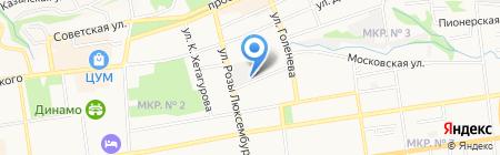 СТАТУС-АУДИТ на карте Ставрополя