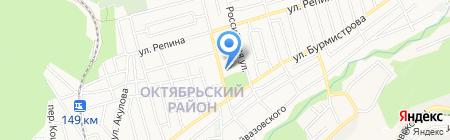 Ставрополец на карте Ставрополя