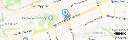 ЖЭК-4 на карте Ставрополя