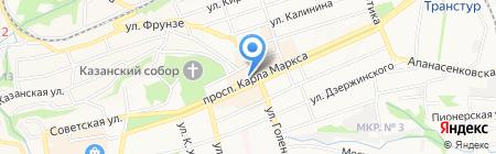 Арт Флора на карте Ставрополя