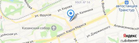 Дентал-Клиник на карте Ставрополя