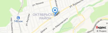 Пекарня на карте Ставрополя