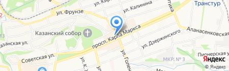 Италстиль на карте Ставрополя