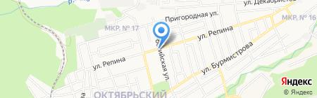 Кафе-Сувлаки на карте Ставрополя