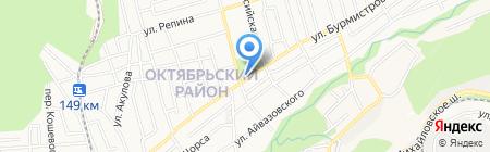 Школьник на карте Ставрополя