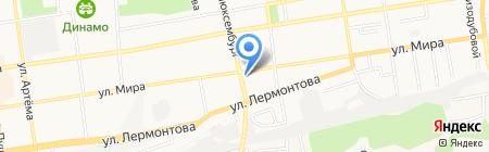 Олеся на карте Ставрополя