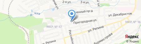 Средняя общеобразовательная школа №28 на карте Ставрополя
