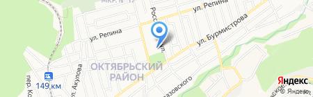 Автошкола Ставрополькрайагрокомплекс на карте Ставрополя