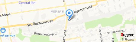 Creative-Avto на карте Ставрополя