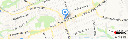 MEGA POWER на карте Ставрополя