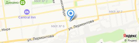 Sweet Dance на карте Ставрополя