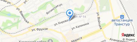 Кондитерка на Казачьей на карте Ставрополя