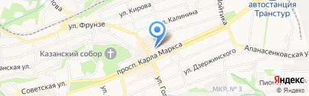 Ставропольская государственная филармония на карте Ставрополя