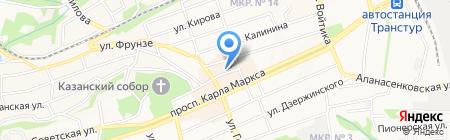 Дамский каприз на карте Ставрополя