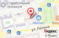 Схема проезда до компании Седьмое Небо в Ставрополе
