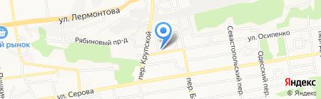 Форштадт на карте Ставрополя