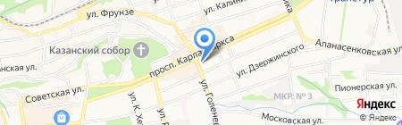 Кооператор на карте Ставрополя
