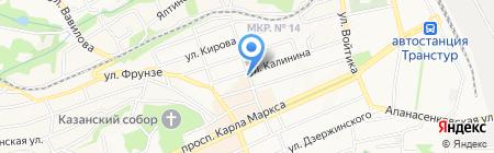 Аудитор бизнеса на карте Ставрополя