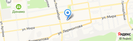 Банкомат Райффайзенбанк на карте Ставрополя