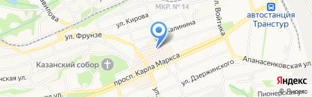 Рынок №1 на карте Ставрополя
