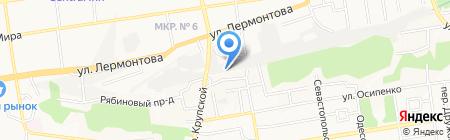 MAXI-GAZ на карте Ставрополя