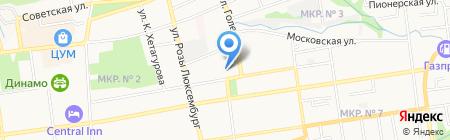 EL DESEO TANGO на карте Ставрополя
