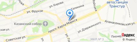Детский мир на карте Ставрополя