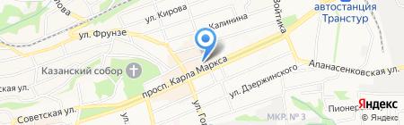 Skazka на карте Ставрополя