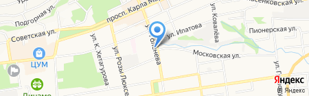 Росздравнадзор на карте Ставрополя