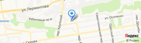 Лидер-СТ на карте Ставрополя