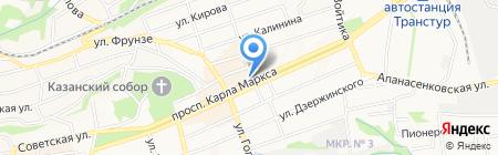 Деньги и Интересы на карте Ставрополя