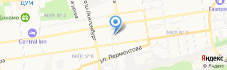 Специальная (коррекционная) общеобразовательная школа №33 на карте Ставрополя