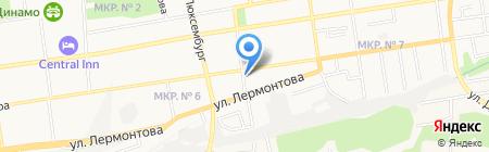 Удобный на карте Ставрополя