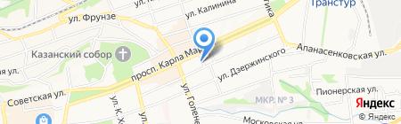 Художник на карте Ставрополя
