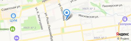 СтавЭКО-сервис на карте Ставрополя