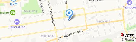 Качество жизни на карте Ставрополя