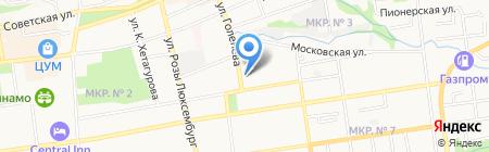 Галактика на карте Ставрополя