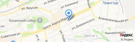 La vie на карте Ставрополя