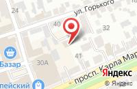 Схема проезда до компании Поиск в Ставрополе