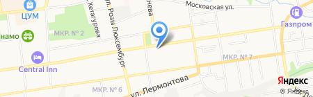 Территориальный фонд обязательного медицинского страхования Ставропольского края на карте Ставрополя