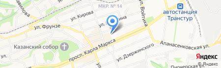 Формула Уюта на карте Ставрополя