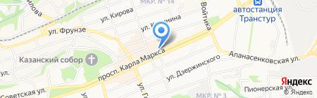 ФлорАнж на карте Ставрополя