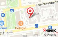 Схема проезда до компании Трио-Плюс в Ставрополе