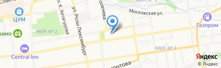 In Time на карте Ставрополя