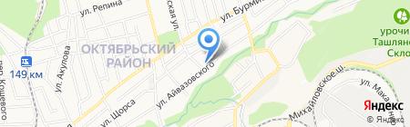 Центр восстановления и защиты кузова автомобиля на карте Ставрополя