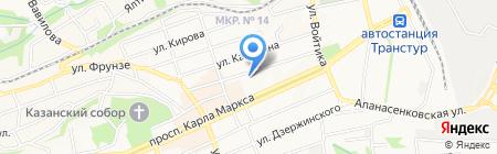 Южно-Российское юридическое агентство на карте Ставрополя