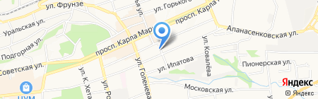 Remonto на карте Ставрополя