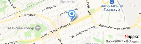 ПромАльпЛюкс на карте Ставрополя
