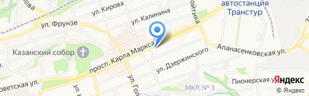 Иголочка на карте Ставрополя