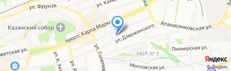 А на карте Ставрополя
